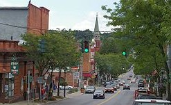Ballston Spa Downtown (Antique Shops)